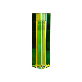 """Modern Kate Spade Jules Point 7"""" Gree/Blue Candlestick by Lenox For Sale"""