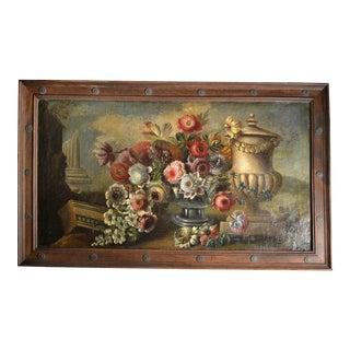 Italian Still Life, 19th Century For Sale