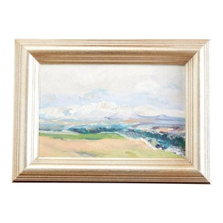California Landscape Oil on Canvas Painting For Sale