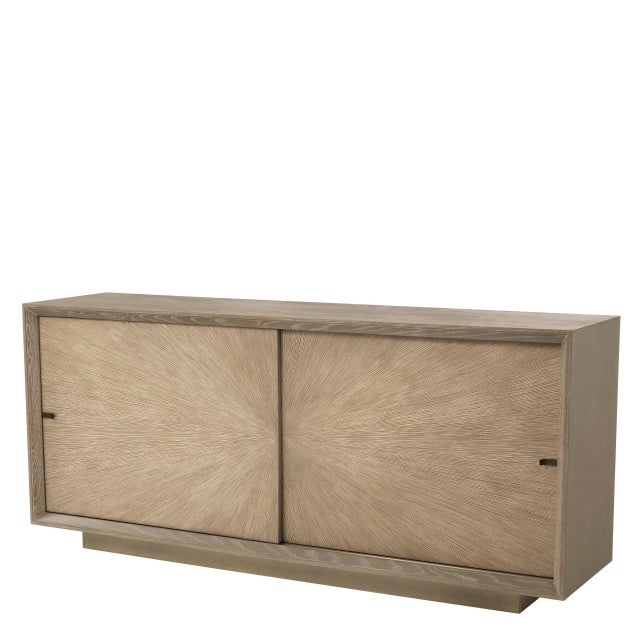 Mid-century Oak Sideboard | Eichholtz Lazarro For Sale - Image 9 of 9