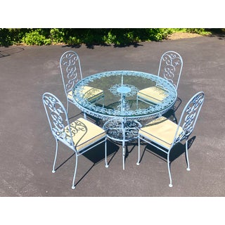 Victorian Metal Dining Set - 5 Pieces Preview