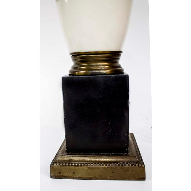 Italian 1940s Fornasetti Style Table Lamp For Sale - Image 3 of 12