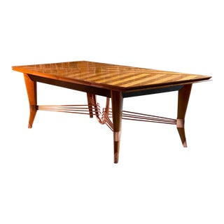 Vintage New Art Deco Dining Tables Chairish