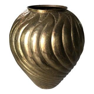 Egidio Casagrande Modernist Monumental Urn Vase For Sale