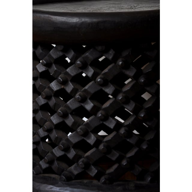 1990s 1990s African Carved Bamileke Coffee Table For Sale - Image 5 of 6