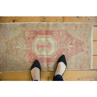 """Vintage Distressed Oushak Rug Mat - 1'6"""" X 3' Preview"""