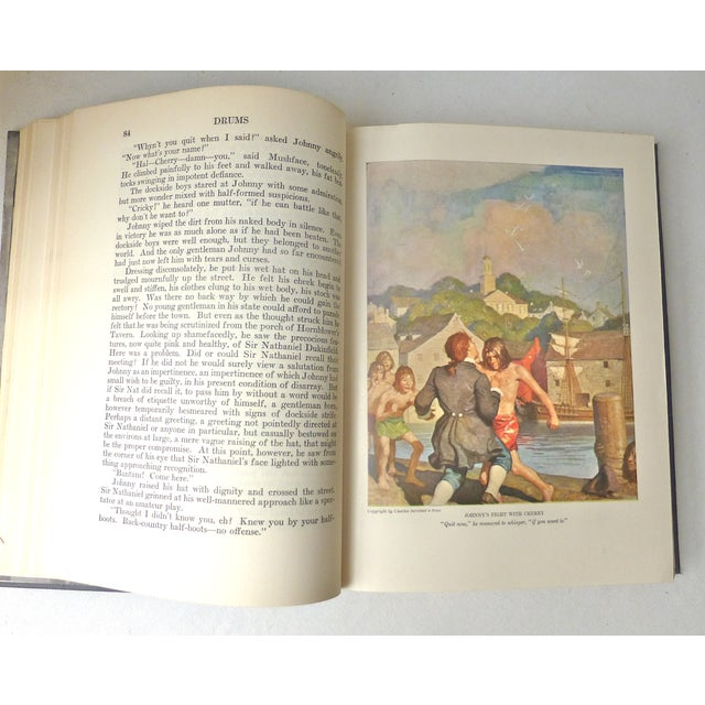 """""""Drums"""" Book Illustrated by N.C. Wyeth, 1928 - Image 6 of 11"""
