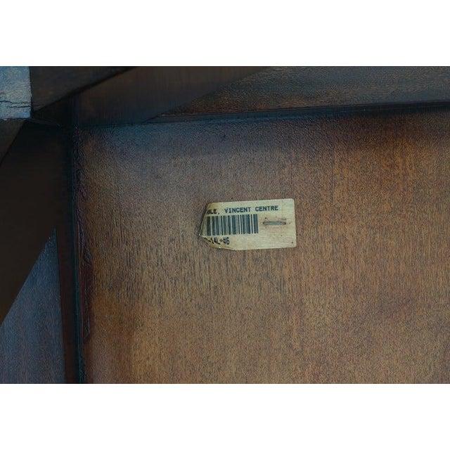 Vintage Lucien Rollin for Switzer Center Table Art Deco Revival For Sale - Image 11 of 12