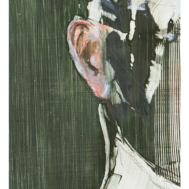 Michael J. Dowling Contemporary American Oil Painting on Wood For Sale - Image 4 of 5
