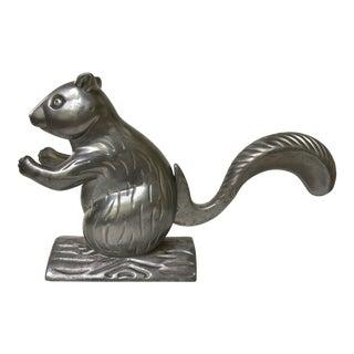 Vintage Cast Aluminum Squirrel Nutcracker