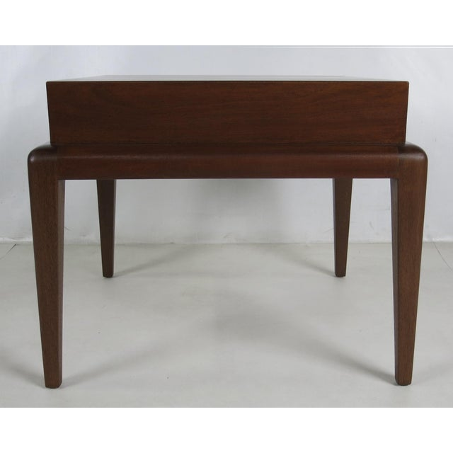 1950s Pair of Mahogany Side Tables by Seth Ben-Ari For Sale - Image 5 of 6