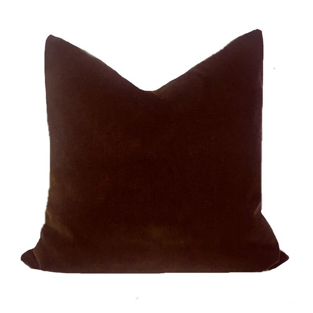 Add causal luxury with these warm and inviting soft pillows made of European cotton velvet. The color is a deep, rich...