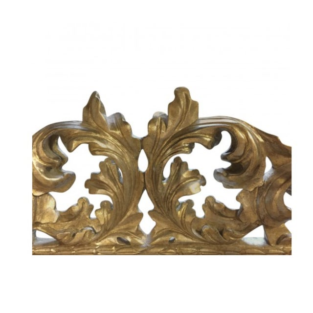 Lawson-Fenning 1900s Mid-Century Modern Lawson Fenning Gilt Carved Mirror For Sale - Image 4 of 6