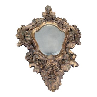 1882 Antique Spanish Colonial Mirror For Sale