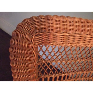 Victorian Wicker Arm Chair Preview