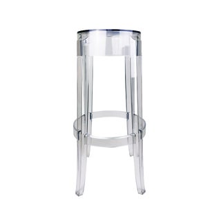 Charles Ghost Stool by Philippe Starck for Kartell For Sale