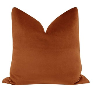 "22"" Amber Designer Velvet Pillows - a Pair Preview"
