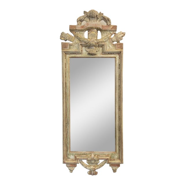 18th Century Swedish Gustavian Mirror by Nicolas Meunier For Sale