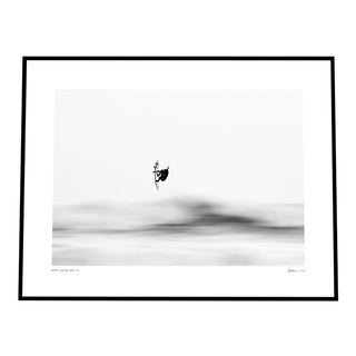 'Up High' Print Photograph on Rag Paper with White Border by Enric Gener Framed For Sale