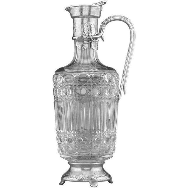 Glass Faberge Claret Jug For Sale - Image 7 of 7