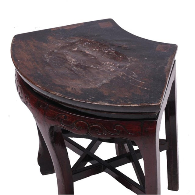 C. 1800 Chinese Side Table - Image 4 of 4