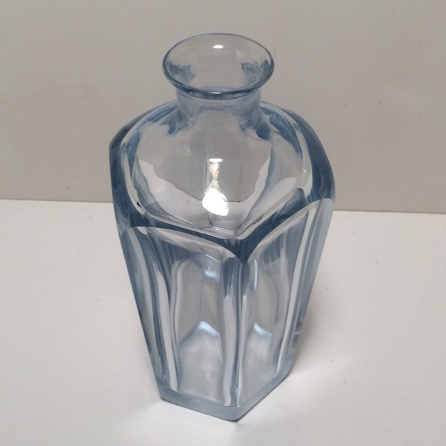Art Deco Strombershyttan Crystal Swedish Glass Decanter For Sale - Image 3 of 13