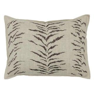 Tiger Stripe Pattern Pillow Preview