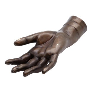 19th Century French Bronze Hand For Sale