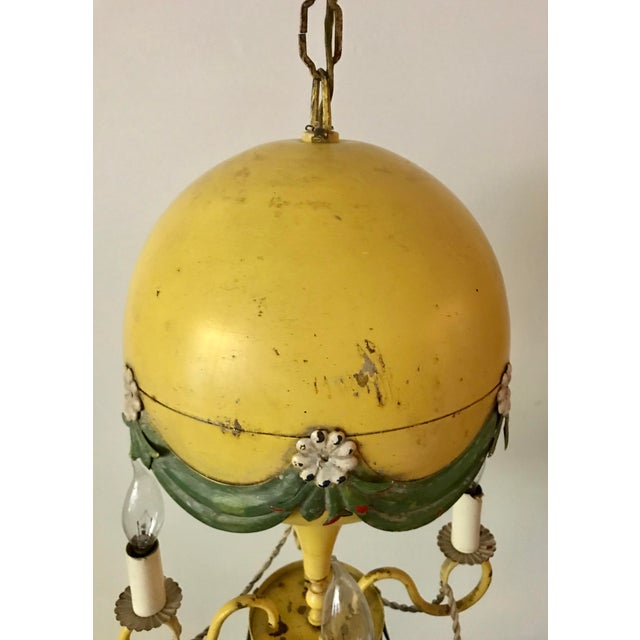 1930's French Hot-Air Balloon Chandelier For Sale - Image 12 of 13