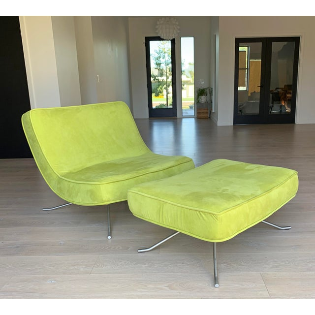 Ligne Roset Pop Chair and Ottoman by Christian Werner For Sale - Image 9 of 9