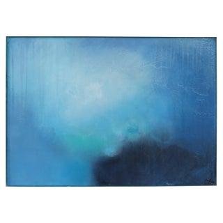 Sunday Morning. Oil Pastel on Framed Panel 2019 by C. Damien Fox For Sale