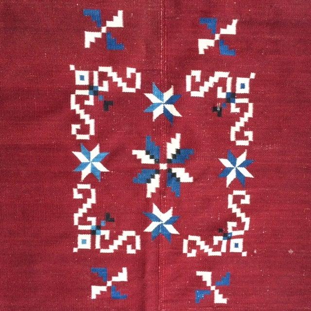 Vintage Southwest Saltilo Serape Rug - 4′10″ × 6′8 - Image 3 of 10
