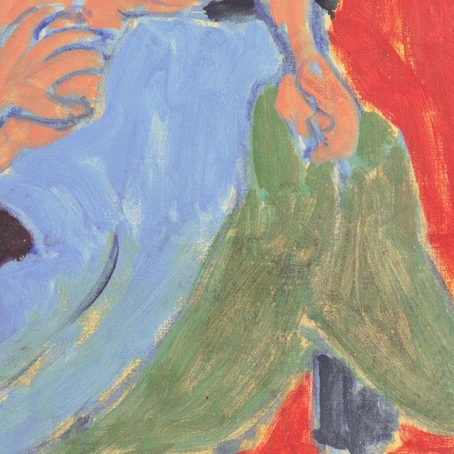 Reclining Nude in Interior by Victor DI Gesu, Los