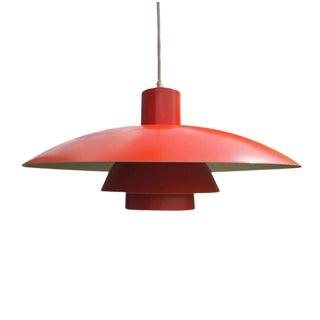 Vintage Poul Hensen 4/3 Pendant Light for Louis Poulsen For Sale