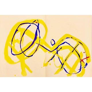 1962 Derriere Le Miroir Pierre Tal Coat Lithograph DM04131D For Sale