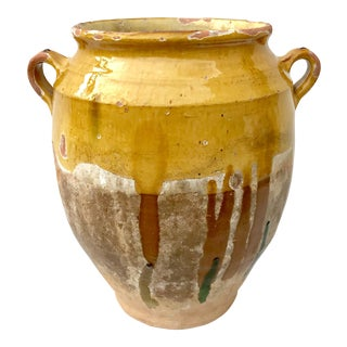 19th Century French Faience Confit Pot