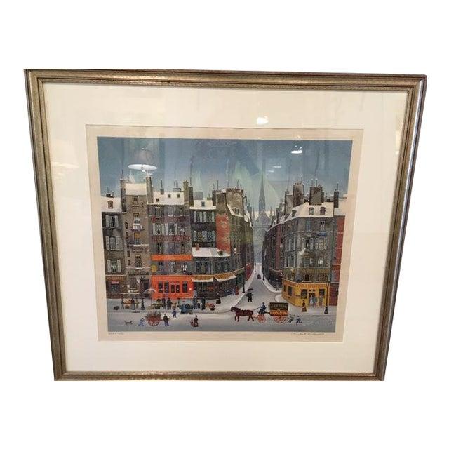 Michel Delacroix Lithograph For Sale