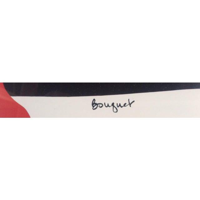 "Alex Boies Signed ""Bouquet"" Offset Lithograph - Image 4 of 6"