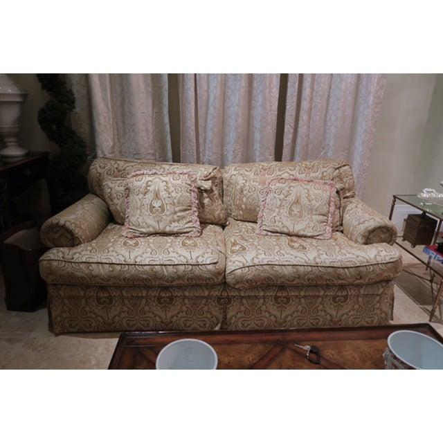 EJ Victor Roll Arm Sofa - Image 2 of 6