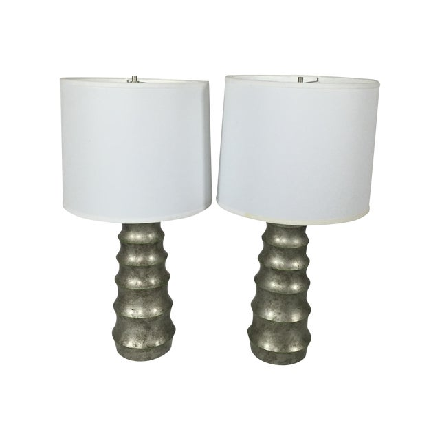 A. Rudin Modern Table Lamps - A Pair - Image 1 of 5