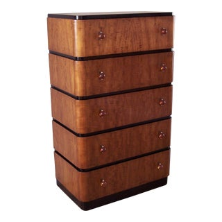 Circa 1928 Donald Deskey Chest of Drawers