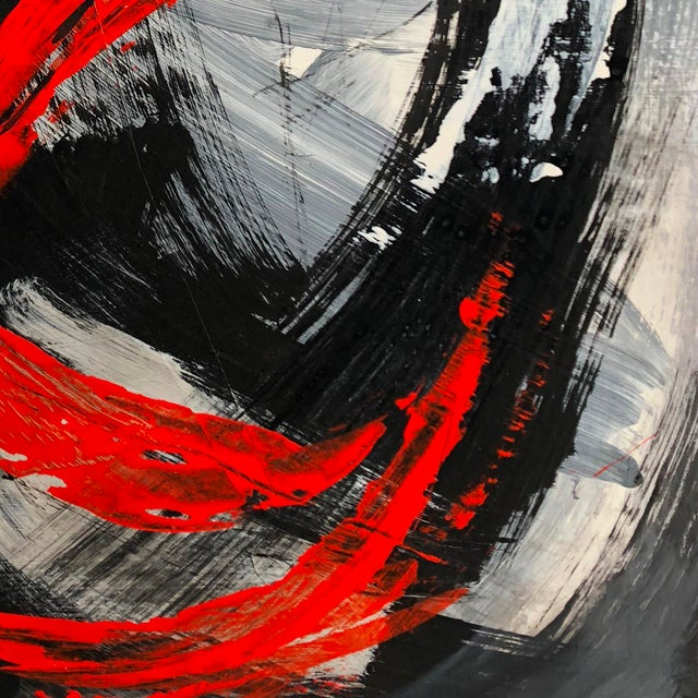 """Abstract """"Image of a Moment"""" Original Abstract Mixed Media Artwork by Marko Kratohvil For Sale - Image 3 of 6"""