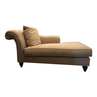 Beige Chaise Lounge