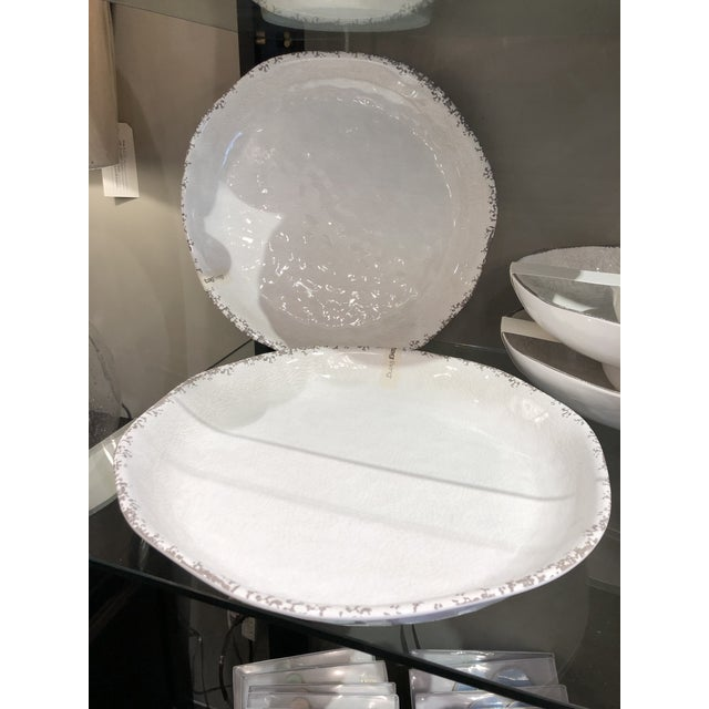 This fabulous melamine round platter will make summer entertaining easy. The serve ware is bpa-free, durable, has an...