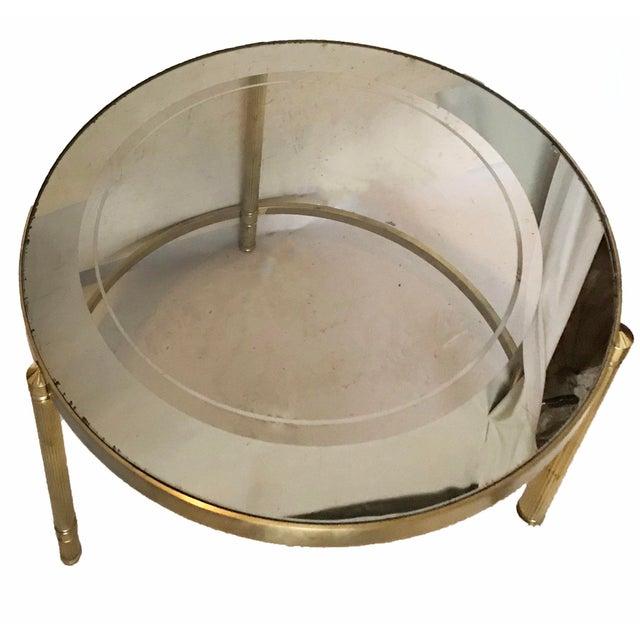 Maison Lancel Vintage Set of Round Nesting TablesNesting. 3 For Sale - Image 4 of 6