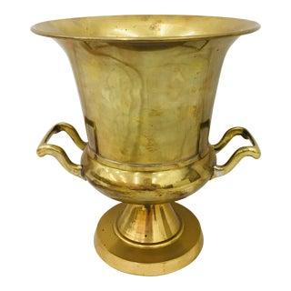 Vintage Brass Champagne Bucket