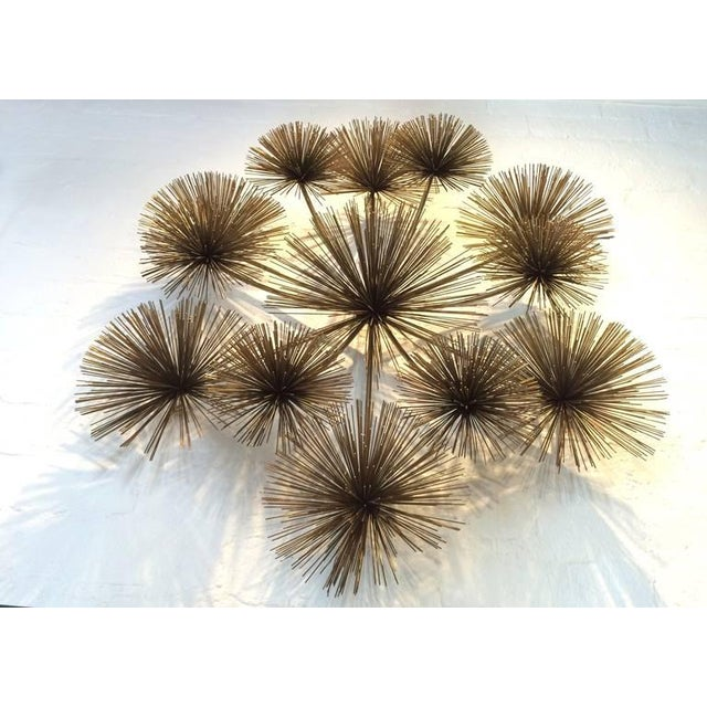 "Large Signed ""Pom Pom"" Wall Sculpture by Curtis Jere - Image 3 of 8"