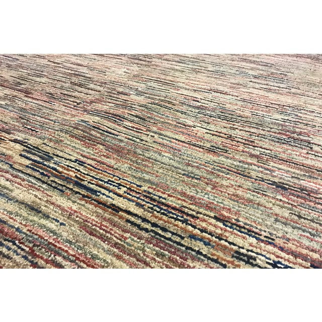 Contemporary Hand Woven Rug - 4' X 5'9 - Image 3 of 4