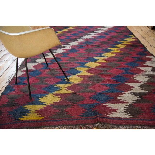 "Vintage Kilim Carpet - 6'4"" X 9'10"" - Image 3 of 6"