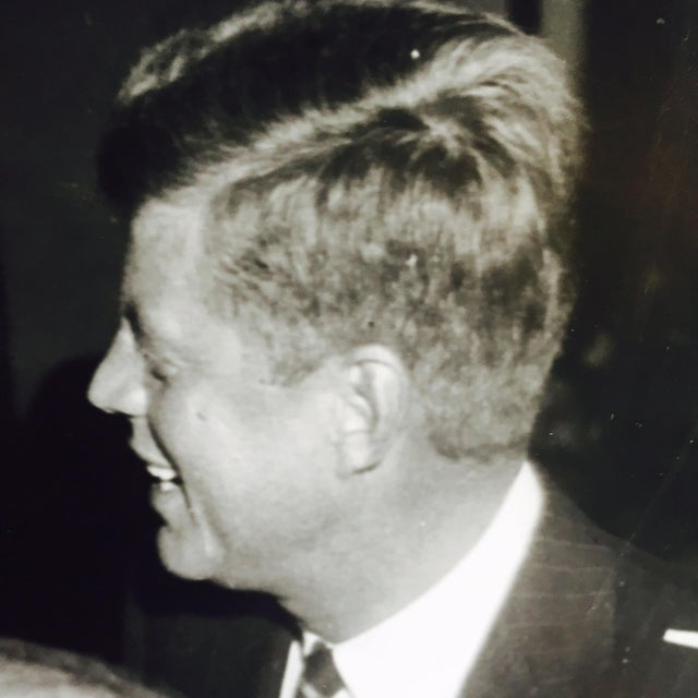 Original Charles Harris JFK Supporters Photograph - Image 6 of 7
